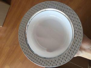 """7.5""""Plastic Elegant Plate (RZP75)"""