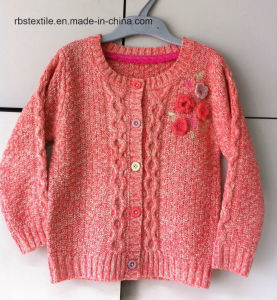Girls Even Twist - Texture and Cable Cardigan pictures & photos