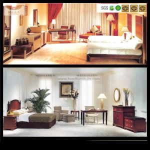 High Quality Wooden Furniture 5 Star Hotel Bedroom Furniture Set (HY-028) pictures & photos