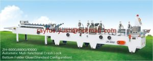 Non-Standard Carton Box Folding Gluing Machine pictures & photos