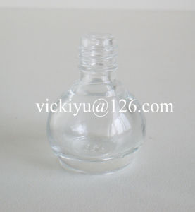 3ml Pumpkin-Shaped Small Nail Polish Glass Bottles