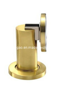 Satin Gold Zinc Alloy Door Magnetic Holder (KTG-610C) pictures & photos