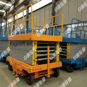 4m Hydraulic Lift, Passenger Lift, Scissor Lift, Mobile Lift pictures & photos