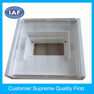 Custom Injection Plastic Part OEM Clear Plastic Cover pictures & photos
