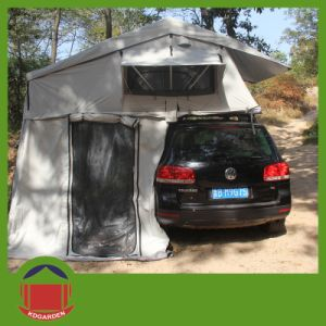 Dark Grey Color 280g Riptop Material Soft Roof Top Tent pictures & photos