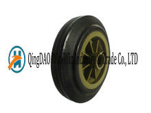 6in Solid Rubber Climb Stair Truck Wheel, 6in Solid Rubber Tyre, 5 Inch Solid Wheel pictures & photos