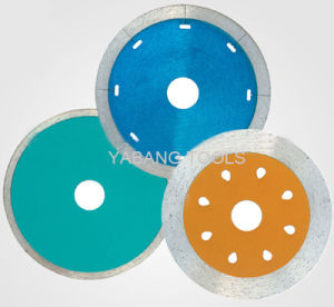Sintered Continuous Rim Diamond Saw Blade pictures & photos