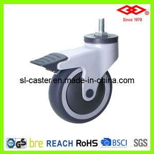 Swivel Screw Locking Caster Wheel (L503-39E125X32CS) pictures & photos