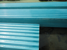 Fiberglass Corrugated Resin Sheet, Fiber Roofing Board pictures & photos