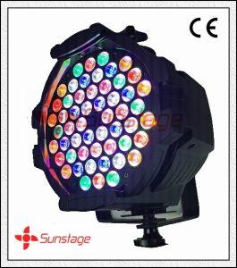 Double Bracket 54 X 3W IP65 LED PAR Light 3200k Rainbow Effect RGB Stage Lighting