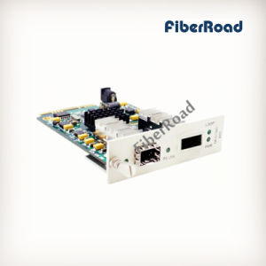 10G Fiber Media Converter Card with SFP+ to XFP Ports for 16 Slots Chassis