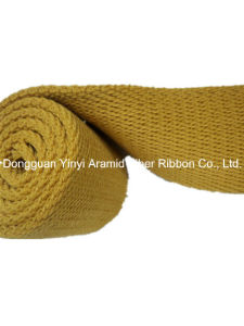 Light Yellow Thick Twill Ribbon for Garment Belt pictures & photos