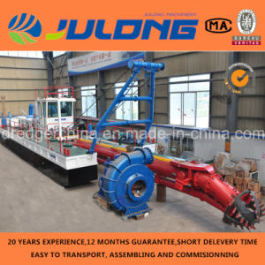 Good Quality Julong Brand High Efficiency Cutter Suction Dredger for Sale
