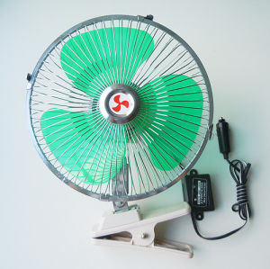 DC12V 9 Inch with Clip 60 Strips Metal Car Fan pictures & photos
