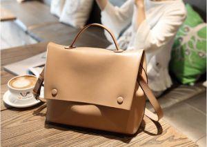 2017 New Style PU Leather Women Shoulder Desinger Handbag pictures & photos