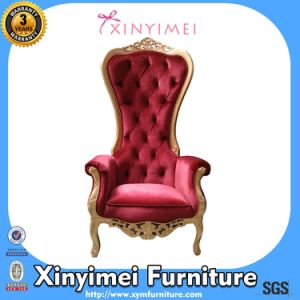 High Back King Throne Chair, Hotel High Back Chair, Wedding Chair (XYM-H116) pictures & photos