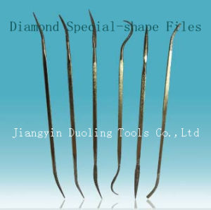 Diamond Two Sides Special-Shape Files Dual-Head (EF105)