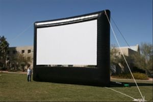 Gaint Inflatable Outdoor Projector Screen (XZ-SC-008)