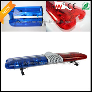 Halogen Rotating Police Lightbar with Flash Lights pictures & photos