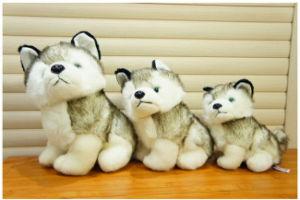 Wholesale Lifelike Wild Animal Soft Toy Stuffed Wolf Plush Toy