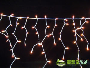 Christmas Outdoor LED Curtain Icicle String LED Lights, for New Year, Garden Decoration, Xmas and Wedding Party Use pictures & photos