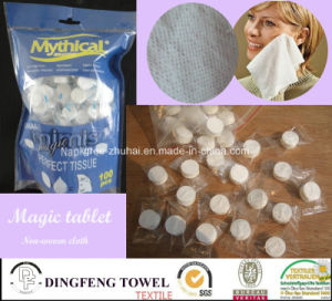 Non Woven Disposable Compressed Napkins pictures & photos