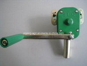 Manual Poly Film Winding Winch pictures & photos
