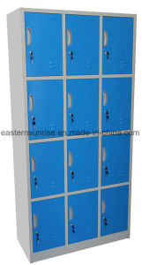 Cheap 12 Door Metal Steel Iron Clothe Locker/Cabinet pictures & photos