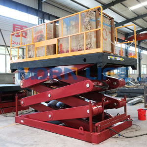2 Ton Hydraulic Scissor Lift Table pictures & photos