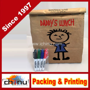 Reusable, Insulated Tyvek Lunch Bag - Includes 4 Mini Permanent Markers - Great for Office Gifts (210220) pictures & photos