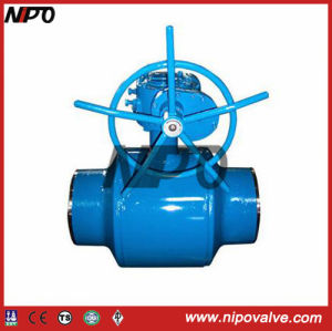 Fully Welded Trunnion Ball Valve pictures & photos