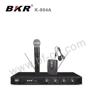 VHF Cheaper Price Wireless Meeting Microphone System K-804A pictures & photos