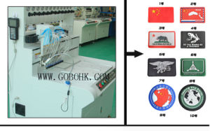 Automatic PVC Label Rubber Patch Making Machine Dripping Color and Base Automatically pictures & photos