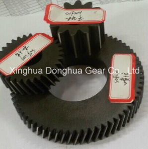 Different Kinds of Spur Gears, with Yellow Zinc Plating or Chemical Black Finish pictures & photos