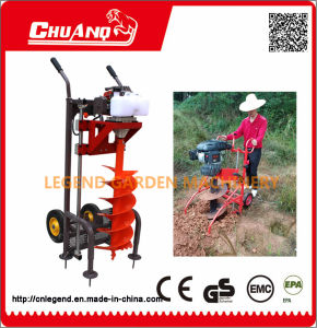 Earth Auger with Wheel pictures & photos