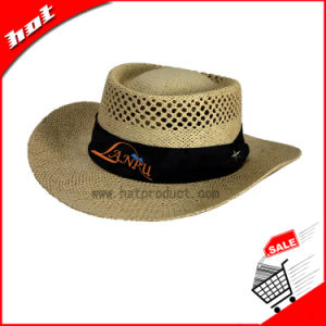 Customed Cowboy Paper Straw Hat pictures & photos
