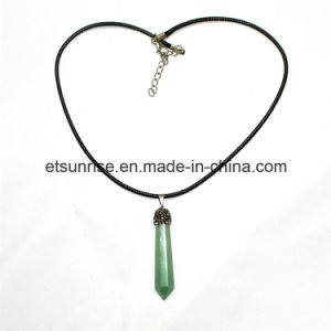 Semi Precious Stone Fashion Crystal Beaded Necklace Jewelry pictures & photos