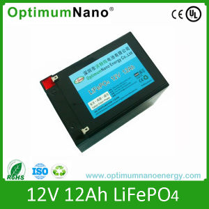 LiFePO4 Battery 12ah Lithium Batteries 12V pictures & photos