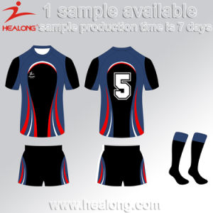 Healong Custom Sports Wear Sublimation Digital Wholesales Man Rugby Uniform pictures & photos