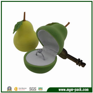 Fruit Series Christmas Pear Plastic Jewelry Box pictures & photos