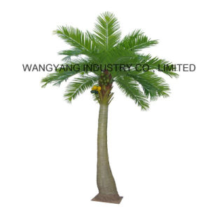 Garden Home Decoration Plastic Outdoor Artificial Coconut Palm Tree
