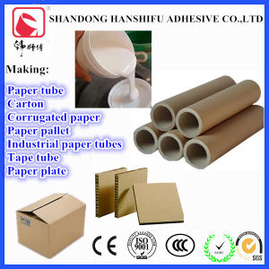 Environmental Fast-Drying Paper Tube White Glue pictures & photos