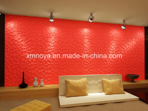 Sound Absorption & Heat Insulation Materials, 3D Wall Decorative Panel pictures & photos