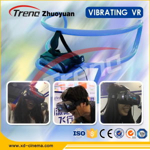 Amusement Park Simulator for Sale Three Seats Virtual Reality Cinema pictures & photos