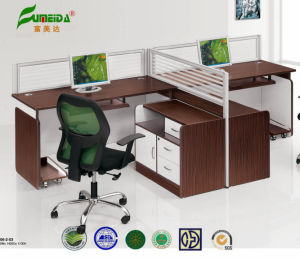 MFC Workstation Glass Screen Office Furniture pictures & photos