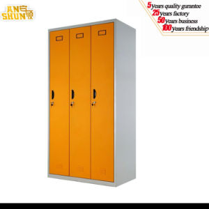 as-026 3-Compartment Steel Dressing Cupboard pictures & photos