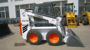 New and Used CE Small Skid Steer Loader with Auger pictures & photos