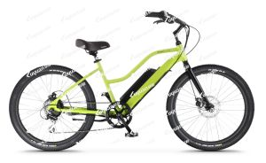 Step-Thru Cruiser Electric Bicycle Torque Sensor Frame Intergrated Lithium Battery (OC2) pictures & photos