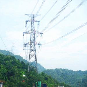 220kV Corner Terminal Power Transmission Iron Tower pictures & photos