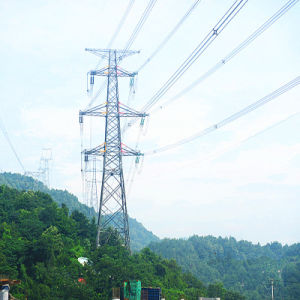 220kv Corner Terminal Power Transmission Iron Tower pictures & photos